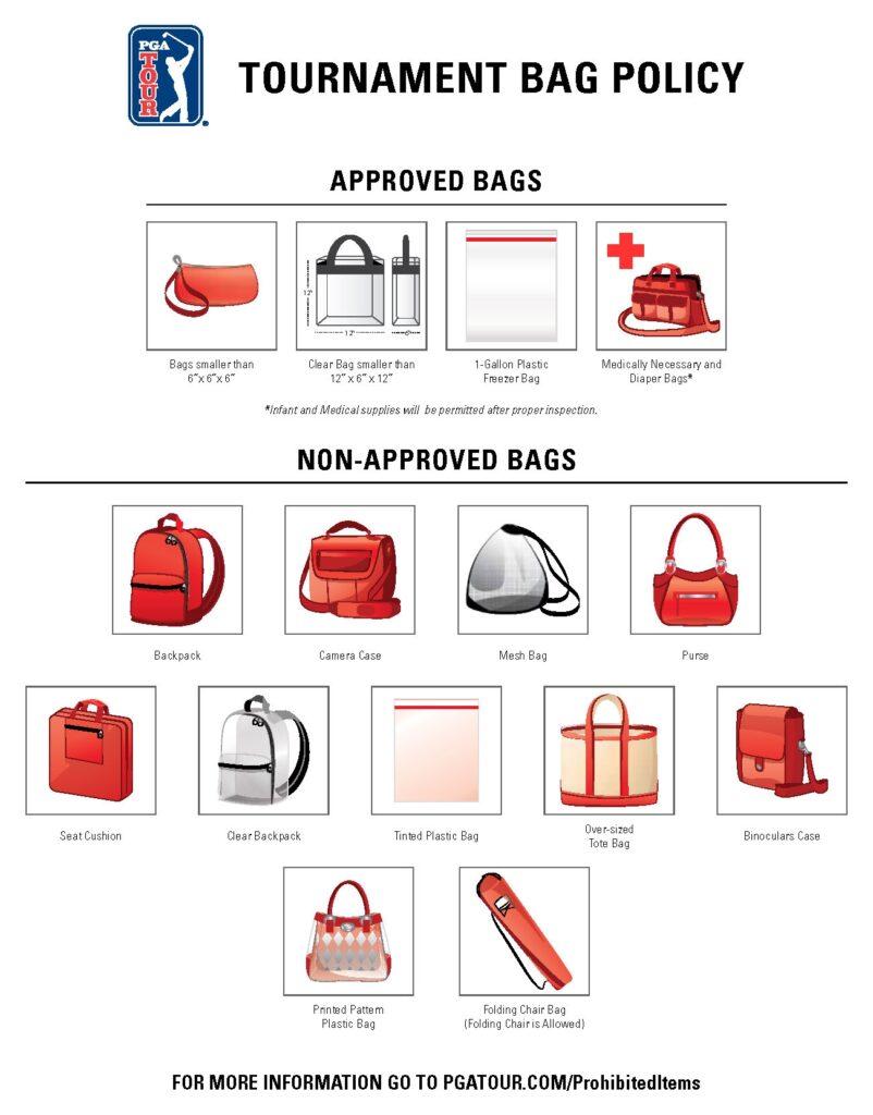 Tournament Bag Policy